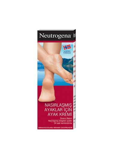Norveç Formülü Nasirlaşmiş Ayaklar İçin Ayak Kremi 50 Ml-Neutrogena